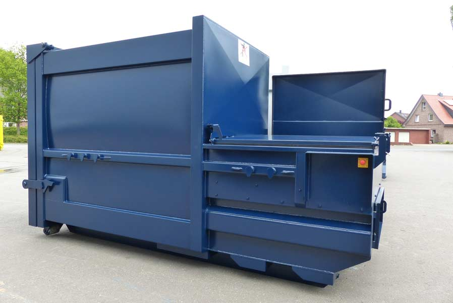 Presto Mobile Compactors For Industrial Waste